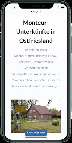 Webseite erstellen Ostfriesland